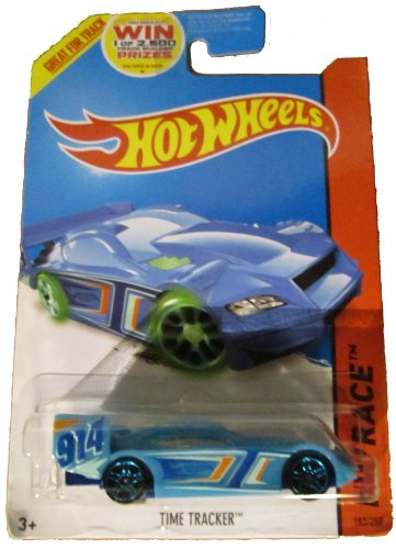 Hot Wheels 2014 Hw Race Night Storm Blue Time Tracker 914 - 183/250