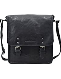 NICHOLAS Urban Forest Genuine Leather Messenger Sling Bag For Men ...