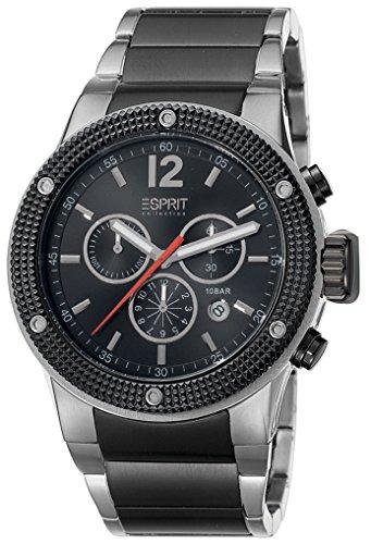 Esprit Collection para hombre-reloj cronógrafo de cuarzo acero inoxidable Anteros EL101281F05