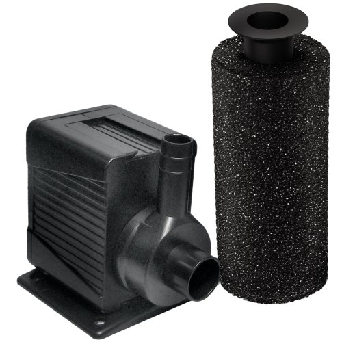 Beckett dp400 400 gph pump for ponds and fountains best for Large pond pumps and filters
