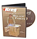Kreg V06-DVD-Pocket Hole Joinery DVD, Building a Router Table