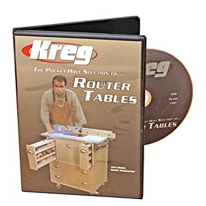 kreg router table dvd plans