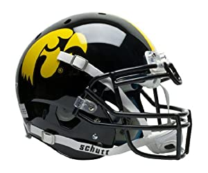 NCAA Iowa Hawkeyes Authentic XP Football Helmet by Schutt