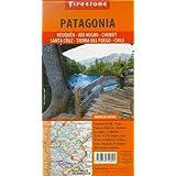 Map Firestone Patagonia: Neuquen, Rio Negro, Chubut, Santa Cruz, Tierra del Fuego, Chile sur (Spanish Edition)...