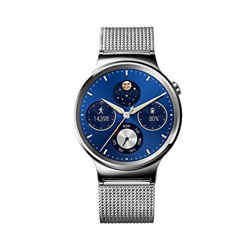 Huawei - Watch Classic - Montre pour Smartphone - Maille Argent