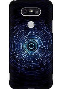 AMEZ designer printed 3d premium high quality back case cover for LG G5 (music)