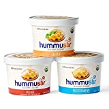 hummustir - Mixed Organic Hummus Styles (Classic, Mediterranean, Village): No Preservatives. (Pack of 3) - 12oz. each