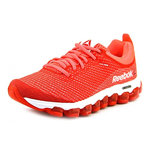 Reebok Women's Zjet Running Shoe,Punch Pink/Bright Cadmium/White,8.5 M US