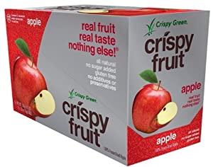 Crispy Green 100% Freeze-dried Fuji Apple, 12 Count