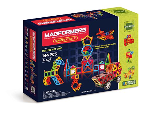 Magformers Smart Set (144-pieces) JungleDealsBlog.com