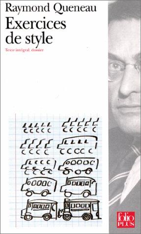 Critiqueslibres Com Exercices De Style Raymond Queneau