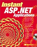 img - for Instant ASP.NET Applications(with CD) book / textbook / text book