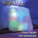 House of Quirk Play Bright Light Pillow As Seen On TV Starlight Square. Led, Comfy, Multicolor Toy Child Kid