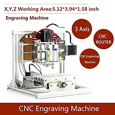 3 Axis CNC DIY Router Machine Engraving Machine PCB Milling Machine CNC Wood Carving Mini Engraving Router by Mysweety