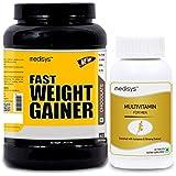 Medisys Fast-weight-gainer-chocolate-1.5kg-free-Multivitamin