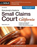 img - for Everybody's Guide to Small Claims Court in California (Everybody's Guide to Small Claims Court. California Edition) book / textbook / text book