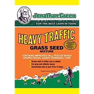 Jonathan Green Heavy Traffic Grass Seed Mixture 3lbs.