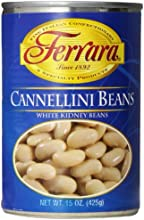 Ferara Canellini Beans 15-Ounce Pack of 12