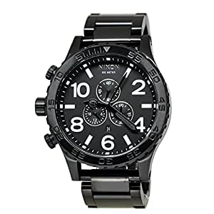 Nixon 51-30 Chrono A083 All Black Watch