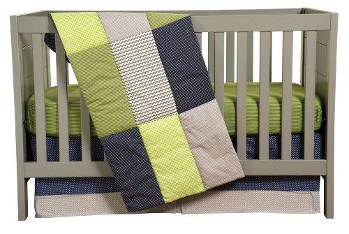 Trend Lab 3 Piece Crib Bedding Set, Perfectly Preppy