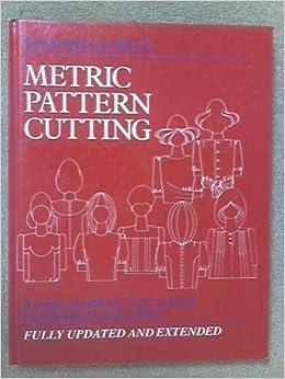 Metric Pattern Cutting Amazon Co Uk Aldrich border=