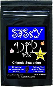Julias Sassy Dip Mix Chipotle from Julia's Southern Foods, LLC