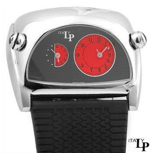 LP Italy Lorenzo Pozzan Dual Time Racing Swiss Watch