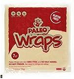 Julian Bakery Paleo Wraps Gluten Free Coconut Wraps, 7 Count