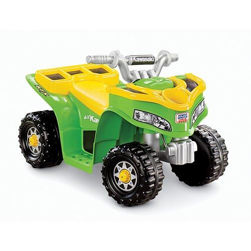 Fisher-Price Power Wheels Lil Kawasaki Boys Sport Quad Ride-On (Lil Kawasaki compare prices)