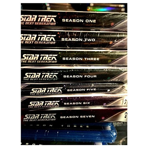 STAR TREK THE NEXT GENERATION BLU RAY SEASONS 1 2 3 4 5 6 7 COMPLETE SERIES! NEW
