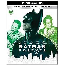 Batman Forever [4K Ultra HD + Blu-ray]
