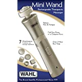 Wahl 4294 Mini Wand Rechargeable Massager, Beige/white