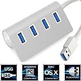 USB 3.0 Hub No1seller Super Thin Aluminum 4 Port USB 3.0 Hub Built-in 12.5 Cable For IMac MacBook MacBook Pro...