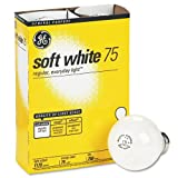 GE 41032-48 75-Watt A19, Soft White, 48-Pack