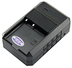 STK's Casio NP-40 NP-40DBA Battery Charger - for Casio Exilm, Casio BC-30L, Casio EX-FC150, Casio EX-FC100, Casio EX-Z750, Casio EX-Z1000, Casio EX-Z850, Casio EX-Z1050, Casio EX-Z100, Casio EX-Z600, Casio EX-Z1080, Casio EX-Z40, Casio EX-Z57, Casio EX-Z5