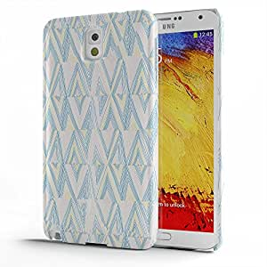 Koveru Designer Printed Protective Snap-On Durable Plastic Back Shell Case Cover for Samsung Galaxy Note 3 - Zebra Snail