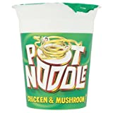 Pot Noodle Chicken and Mushroom 90g (Pack of 12)