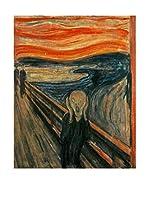 Especial Arte Lienzo L'urlo - Munch Edvard Multicolor
