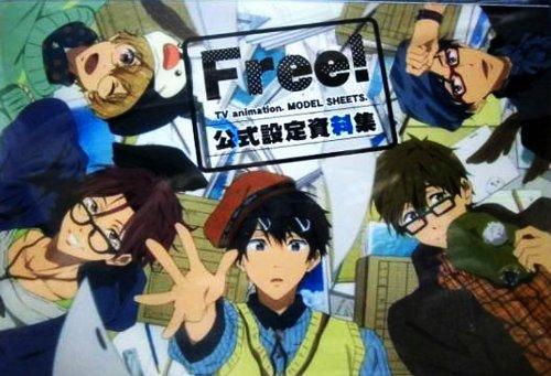 アニメ Free! 公式設定資料集 クリエイターズメッセージブック