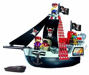 Ecoiffier - Jouet Premier Age - Bateau pirate Abrick