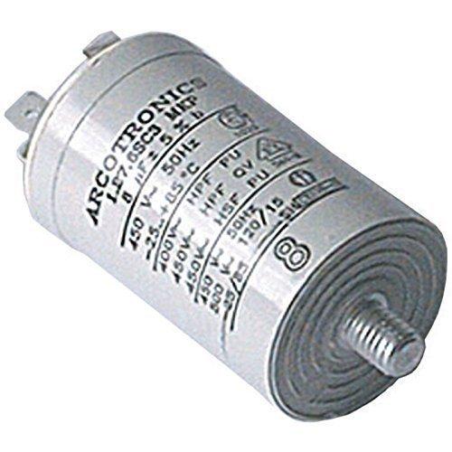 First4Spares - Universal 8UF Start Motor Flachstecker Kondensator für Wäschetrockner