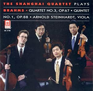 The Shanghai Quartet plays Brahms