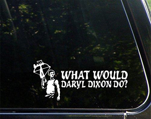 "What Would Daryl D. Do? (9"" x 4"") Die Cut Decal Bumper Sticker for Windows, Cars, Trucks, Laptops, Etc."