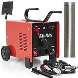 ARKSEN© ARC Welder 250AMP Rated Input Voltage, 110V/220V, Dual Mode, Red