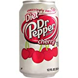 Dr Pepper Cherry Diet 12 fl oz 355 ml (Pack of 3)
