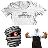 Ask me about my Mummy Kids Funny Flip Tee T-Shirt All Sizes Free UK Postage