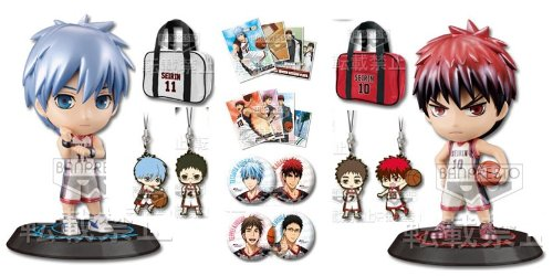 Basketball shiny color Makoto Lin lottery Kuroko most (Kuroko, fire god, Thursday Gil-sun) set A + B Award Award + FGHI (japan import) kaufen