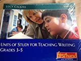 img - for Units of Study for Teaching Writing, Grades 3-5 book / textbook / text book