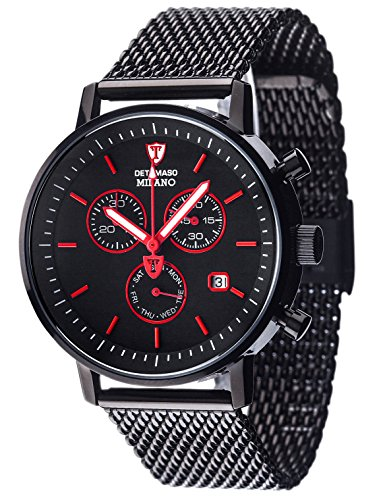 detomaso-milano-mens-quartz-watch-with-black-dial-analogue-display-and-black-stainless-steel-bracele