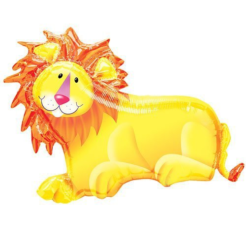 Jungle Party Lion Mylar Balloon